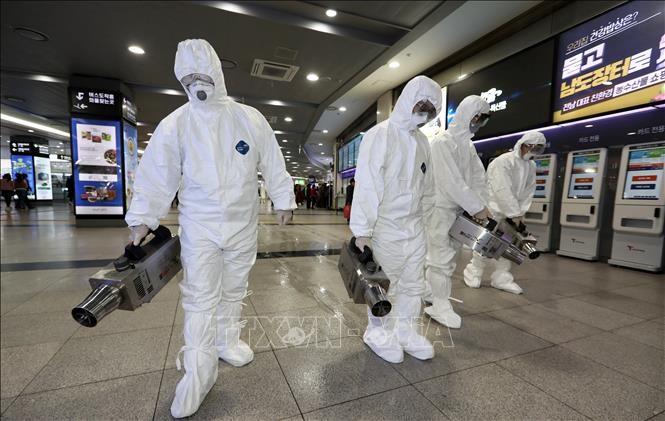 Tiongkok – Republik Korea berupaya mencegah dan menanggulangi wabah Covid-19 - ảnh 1