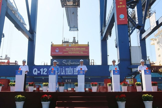 Perusahaan Umum Tan Cang Sai Gon: Berupaya menegaskan brand pelabuhan Vietnam - ảnh 1