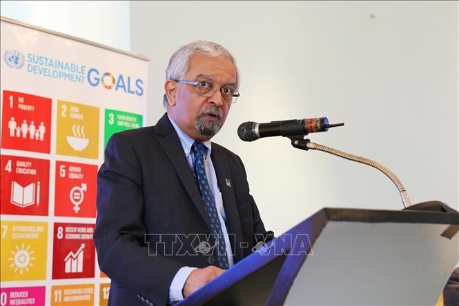 """Mengembangkan peranan kaum pemuda Vietnam dalam dialog global """"Forum kaum pemuda UN75"""" - ảnh 1"""