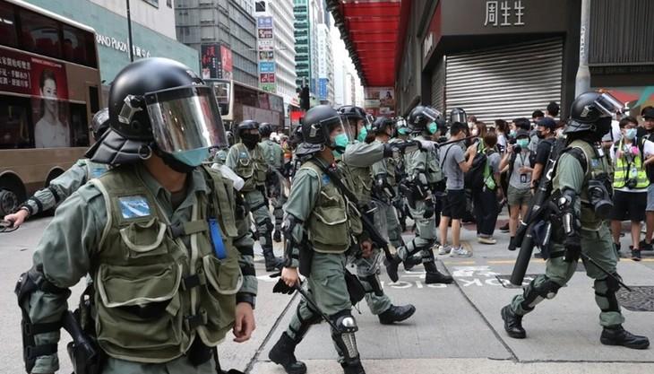 AS, Australia, Kanada dan Inggris mengeluarkan pernyataan bersama tentang Hongkong - ảnh 1