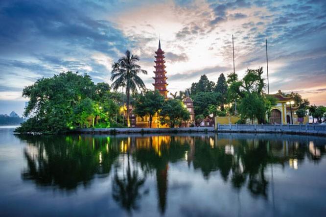 Kota Ha Noi merupakan salah satu destinasi yang paling menarik di Asia - ảnh 1