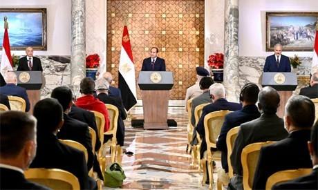 Pernyataan Kairo: langkah penting untuk menghentikan krisis di Libia - ảnh 1