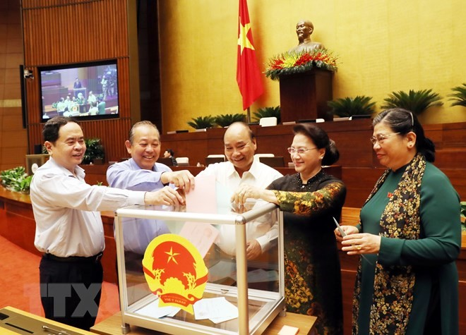 Ketua MN Nguyen Thi Kim Ngan dipilih menjadi Ketua Dewan Pemilihan Nasional  - ảnh 1