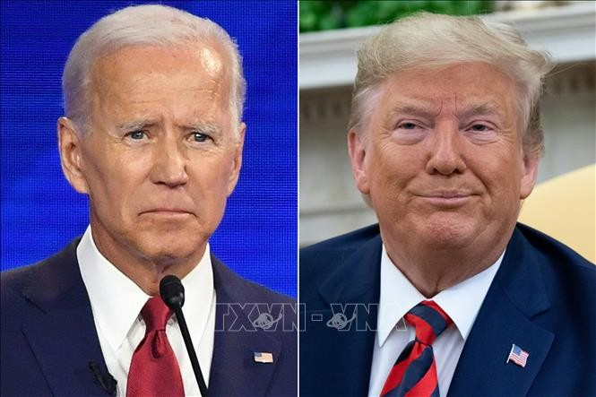 Pilpres AS 2020: Dua capres D.Trump dan J.Biden melakukan kampanye pemilihan di berbagai negara bagian kunci - ảnh 1