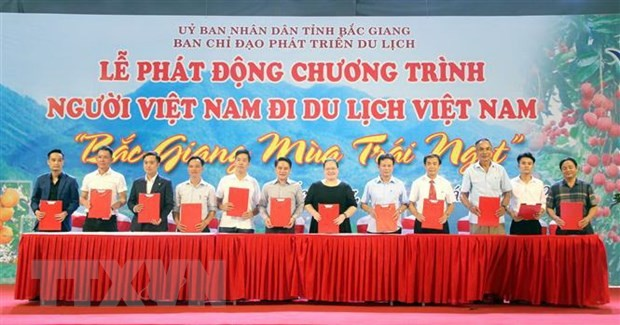Provinsi Bac Giang menstimulasi pariwisata domestik - ảnh 1
