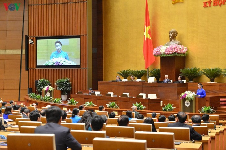 Persidangan ke-9 MN angkatan XIV, persidangan yang khusus dan inovatif dalam sejarah MN - ảnh 1
