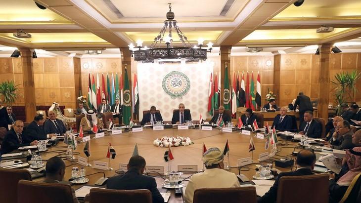Negara-negara Arab mengadakan sidang darurat tentang situasi Libia - ảnh 1
