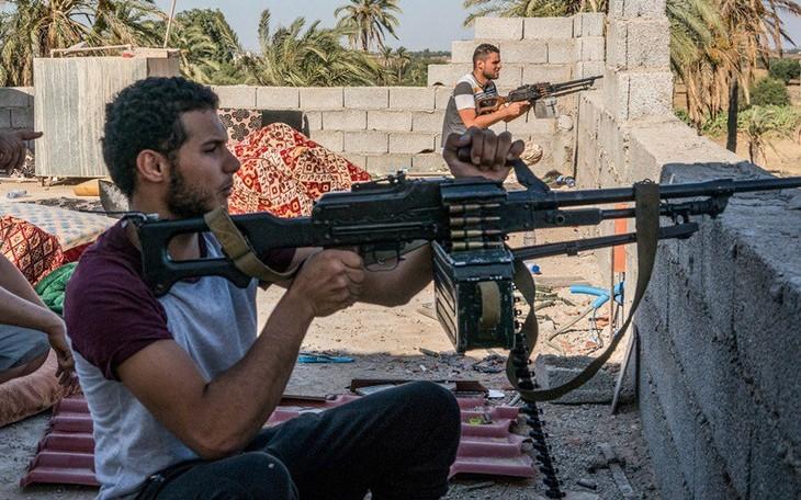 Jerman, Perancis dan Italia berseru supaya menghentikan baku hantam di Libia - ảnh 1