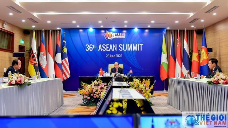 """KTT ke-36 ASEAN mengesahkan Pernyataan 'Visi tentang ASEAN yang berkaitan dan cepat tanggap"""" - ảnh 1"""