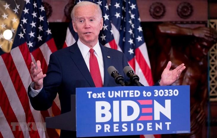 Pilpres AS 2020: Capres J.Biden menghentikan kampanye pemilihan karena wabah Covid-19 - ảnh 1