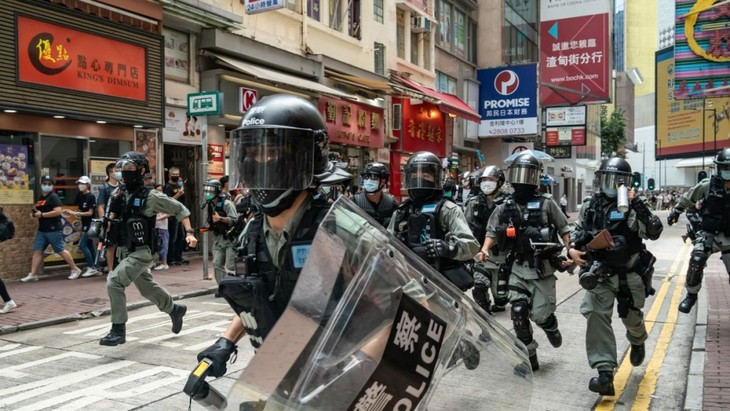 DPR AS mengesahkan RUU tentang pengenaan sanksi terhadap Tiongkok yang bersangkutan dengan masalah Hongkong - ảnh 1