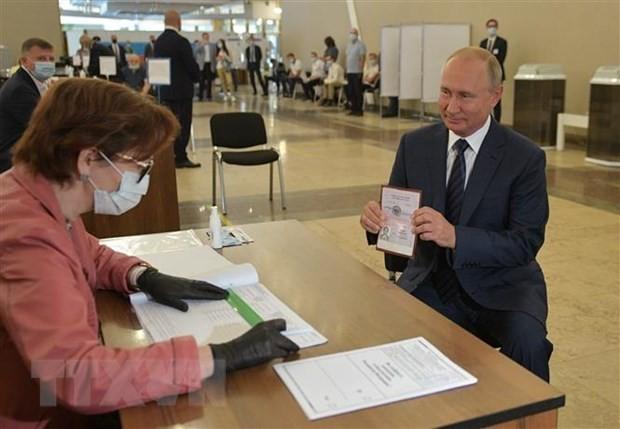 Presiden Putin memuji bahwa revisi UUD adalah tepat terhadap Rusia - ảnh 1
