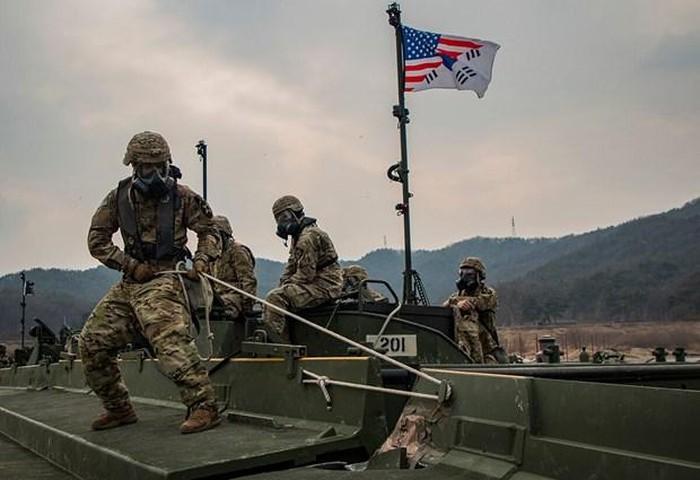 Tentara Republik Korea – AS mengadakan pembicaraan darurat tentang latihan perang gabungan - ảnh 1