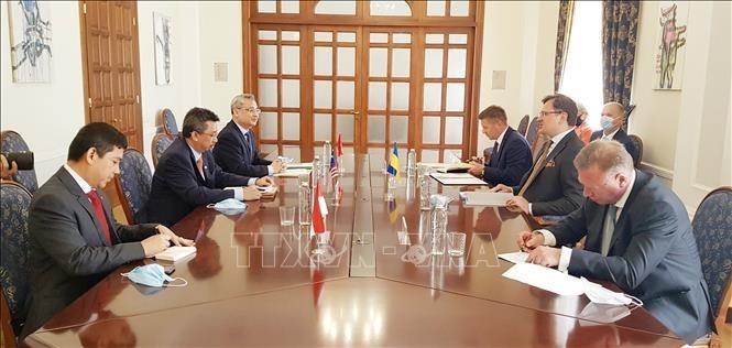 Ukraina dan ASEAN memperkuat kerjasama di banyak bidang - ảnh 1
