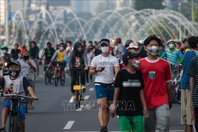 Indonesia mempertimbangkan mengenakan kembali langkah-langkah pembatasan secara serius karena wabah Covid-19 - ảnh 1