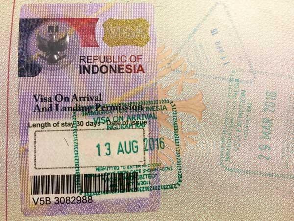 Orang asing yang tertahan harus meninggalkan Indonesia dalam waktu 30 hari  - ảnh 1