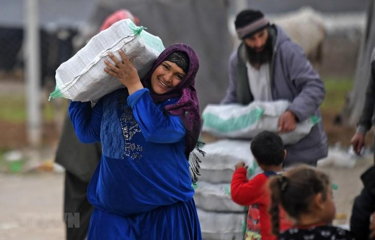 Uni Eropa merasa cemas tentang rencana bantuan PBB kepada Suriah  - ảnh 1