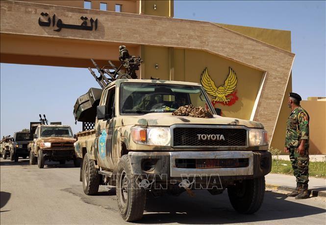 Pimpinan AS dan Turki melakukan pembicaraan telepon tentang situasi Libia - ảnh 1