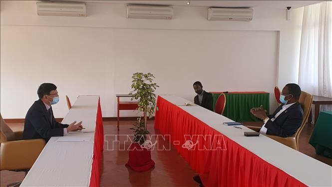 Mendorong kerjasama antara dua partai yang berkuasa Mozambik dan Vietnam - ảnh 1