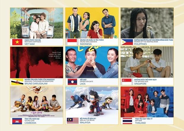 Pekan Film ASEAN 2020 di Kota Da Nang - ảnh 1