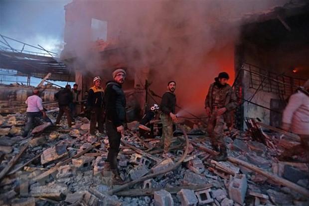 Vietnam menekankan perlunya memecahkan tantangan teroris di Suriah  - ảnh 1