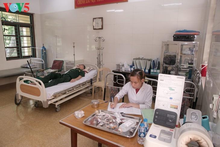 Pusat perawatan prajurit penyandang disabilitas Duy Tien – tempat yang meredakan penderitaan akibat perang  - ảnh 5
