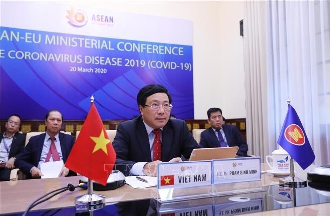 Bersinergi demi satu Komunitas ASEAN yang berkaitan dan cepat tanggap - ảnh 1