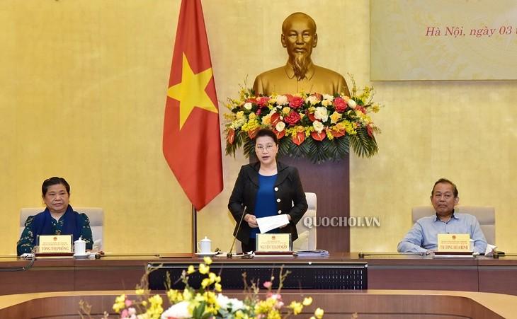 Sidang pertama Dewan Pemilihan Nasional Vietnam - ảnh 1