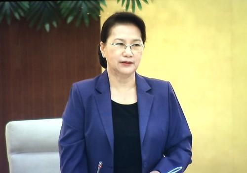 Pembukaan persidangan ke-47 Komite Tetap MN Vietnam - ảnh 1