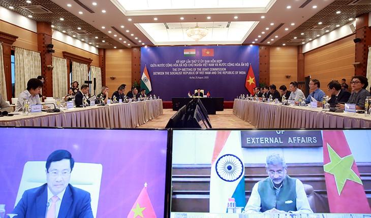 Vietnam-India berupaya mempertahankan perkembangan kerjasama perdagangan - ảnh 1