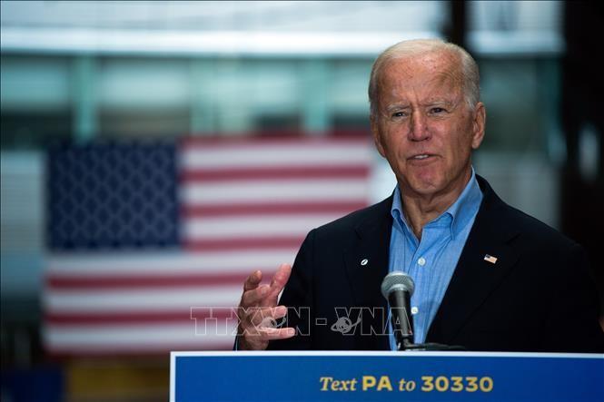 Capres Joe Biden tetap mengungguli Presiden Donald Trump di berbagai negara bagian seperti Michigan dan Nevada - ảnh 1