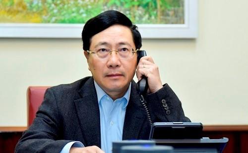 Vietnam-AS Sepakat Bekerja Sama untuk Turut Bawa Hubungan Dua Negara Berkembang secara Komprehensif - ảnh 1