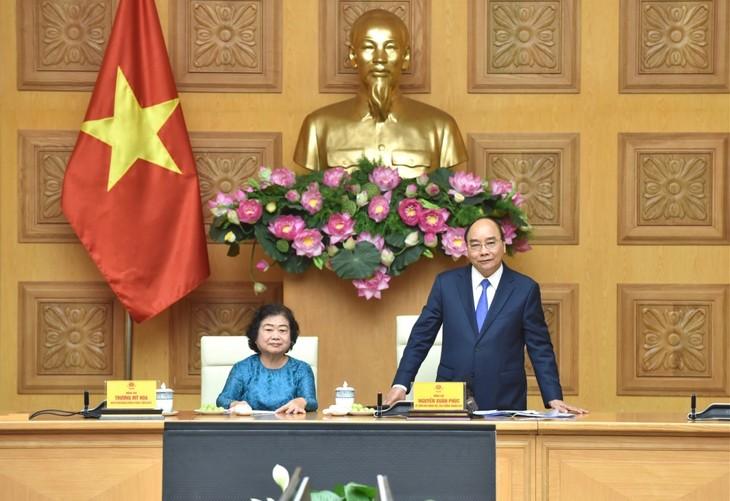 PM Nguyen Xuan Phuc: Dana Beasiswa Vu A Dinh Beraktivitas Efektif demi Usaha Penyuluhan Belajar - ảnh 1