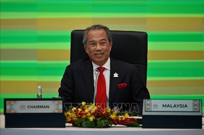 Brunei Darussalam dan Malaysia Perkuat Kerja Sama dan Sepakat Bahas Masalah Myanmar di ASEAN - ảnh 1