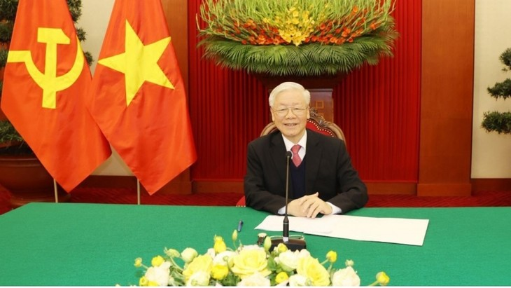 Pembicaraan Pimpinan Senior Vietnam-Federasi Rusia - ảnh 1