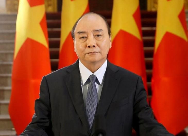 Presiden Nguyen Xuan Phuc  Memimpin KTT DK PBB - ảnh 1