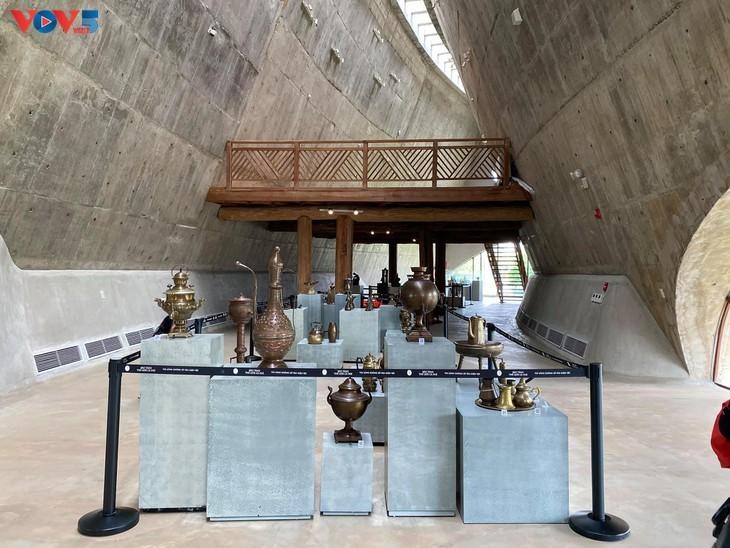 Museum Dunia Kopi di Kota Buon Ma Thuot - ảnh 8
