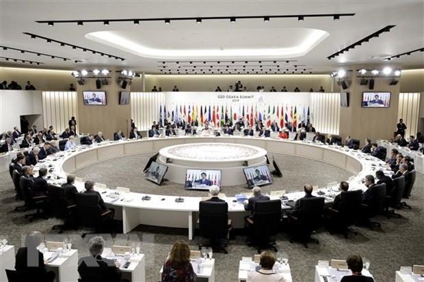 Menlu G7 Adakan Sidang Langsung yang Pertama Selama 2 Tahun - ảnh 1