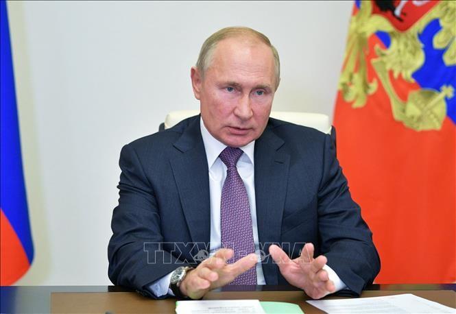 Presiden V.Putin Tolak Tuduhan Rusia Lakukan Serangan Siber terhadap AS - ảnh 1