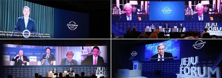 Pembukaan Forum Jeju demi Perdamaian dan Kemakmuran di Republik Korea - ảnh 1