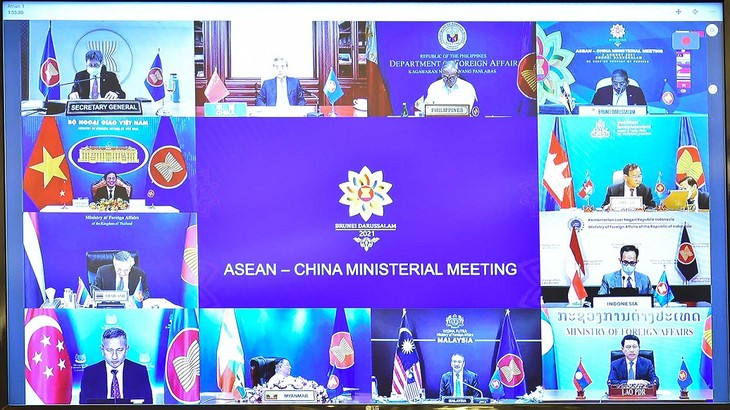 ASEAN-Tiongkok Tegaskan akan Pertahankan Lingkungan yang Damai, Aman, dan Stabil - ảnh 1