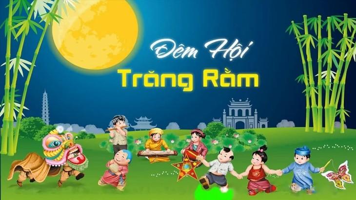 Festival Malam Bulan Purnama: Lentera Terangi Impian - ảnh 1