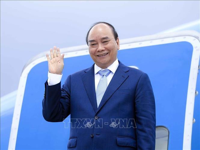 Presiden Nguyen Xuan Phuc Akhiri dengan Baik Kunjungan Resmi di Kuba - ảnh 1