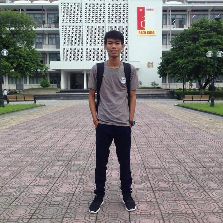 Vun Liem – Mahasiswa Internasional Pertama yang Menangkan Beasiswa Institut Politeknik Hanoi - ảnh 1