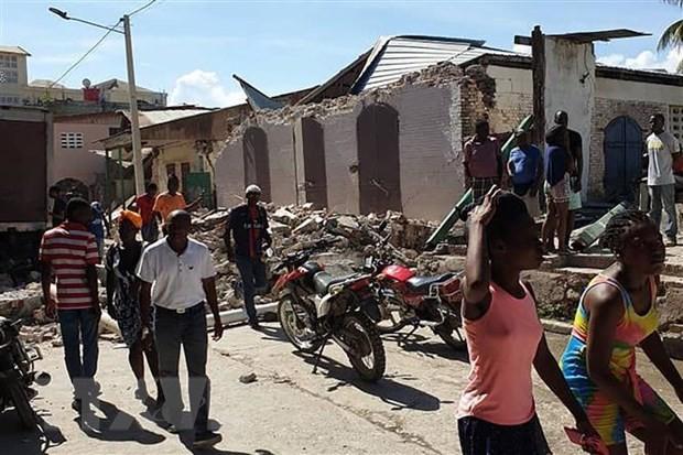 Vietnam Minta Penguatan Langkah-Langkah Pelaksanaan Hukum dan Perlindungan Warga Sipil di Haiti - ảnh 1
