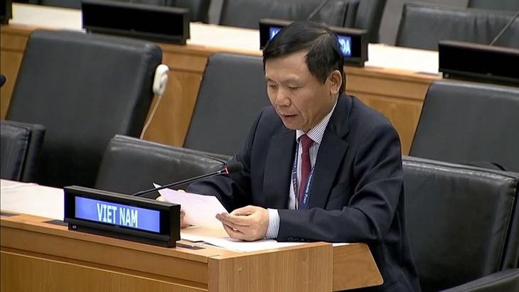 Vietnam Laksanakan Kebijakan yang Konsekuen tentang Penghapusan Sepenuhnya Senjata Pemusnah Massal - ảnh 1