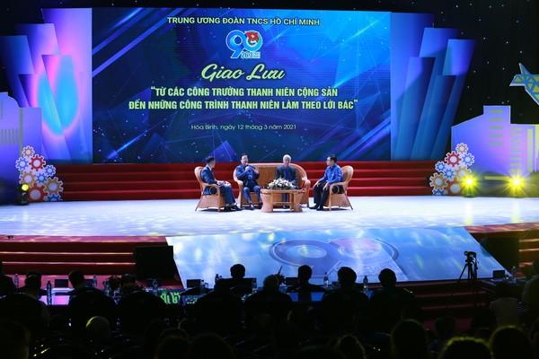 Pertemuan Beberapa Generasi Yang Mengikuti Lapangan Pembangunan Pemuda Komunis - ảnh 1