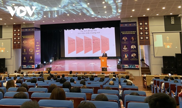 Ekonomi Vietnam 2021: Hadapi dan Atasi Pandemi Covid 19, Mengarah ke Pemulihan dan Pengembangan - ảnh 1