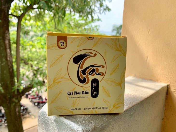 Mahasiswa Da Nang Dirikan Start Up Produk Teh Jamur - ảnh 1