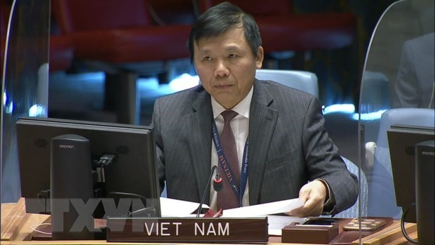 Vietnam Hadiri Pertemuan Dewan Keamanan Tentang Situasi Keamanan Republik Demokratik Kongo dan Dataran Tinggi Golan - ảnh 1